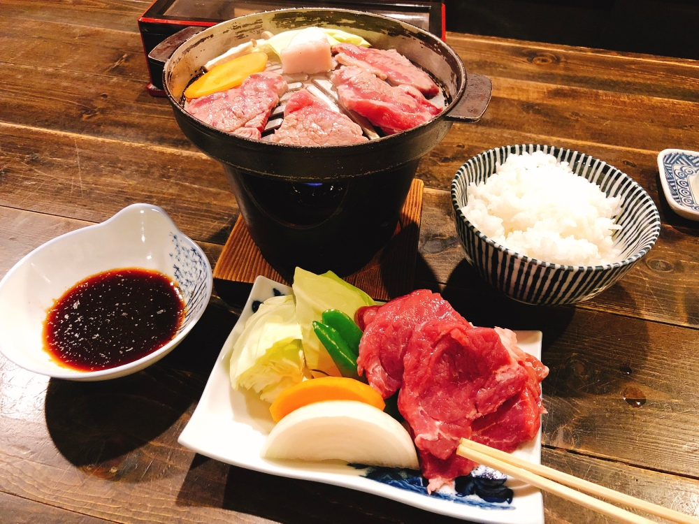 Dinner at Yamagata